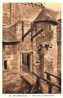 [DC10461] CPA - FRANCIA - HAUT KOENIGSBOURG - ALSACE - TIMBRE VISITE AU CHATEAU - Non Viaggiata - Old Postcard - Non Classificati
