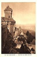 [DC10462] CPA - FRANCIA - HAUT KOENIGSBOURG - ALSACE - TIMBRE VISITE AU CHATEAU - Non Viaggiata - Old Postcard - Non Classificati