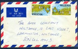 G89-  Postal Used Cover. Posted From Nigeria To England. UK. Sugar Field.. - Nigeria (1961-...)