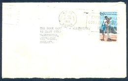 G90-  Postal Used Cover. Posted From Nigeria To England. UK. International Year For Disabled Person. - Nigeria (1961-...)