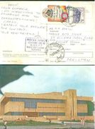 G100-  Postal Used Post Card. Posted From Romania To Pakistan - Romania