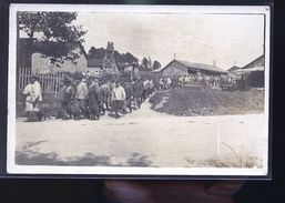 TROSLY CP PHOTO PRISONNIERS ALLEMANDS    RARE - Francia
