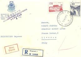 Lettre ,    Yougoslavie  1963 (229) - Usados