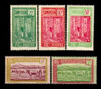 Camerun-0063 - Emissione 1925-27 (+/sg) Hinged/NG - Senza Difetti Occulti. - Cameroun (1915-1959)