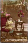 Fantaisie - Enfant - Photo Suzy N°312 - C'est Moi Qui Prends La Plume..... - Enfants