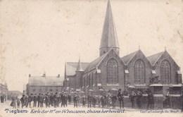 Tieghem, Tiegem, Kerk Der 11e En 14e Eenwen, Thans Herbouwd (pk36833) - Anzegem