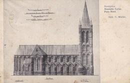 Dottignies, Nouvelle Eglise Face Nord (pk36845) - Mouscron - Moeskroen