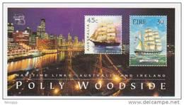 Australia 1999 Australia 99  Joint Issue With  Ireland   Miniature Sheet MNH - 1990-99 Elizabeth II
