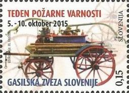 SI 2015-ZZ76 RED CROSS SOLIDARNOST, SLOVENIA, 1 X 1v, MNH - Feuerwehr