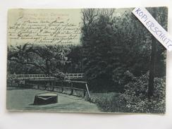 Leipzig-Connewitz, Dammweg Nach Connewitz, Die Weisse Brücke In Der Nonne, 1899 - Leipzig