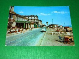 Cartolina Igea Marina - Viale Pinzon 1964 - Rimini
