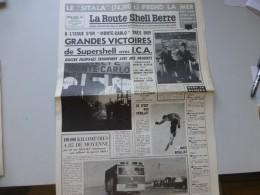 La Route Shell Berre N°56 Fev 1961,Rallye Monte-Carlo, Pétrolier SITALA Saint-Nazaire, Berliet, Etc  ; Ref 325 G 22 - Journaux - Quotidiens