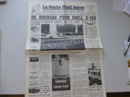 La Route Shell Berre N°40  Mai 1959, Pantin, René Caillé, Etc  ; Ref 327 G 22 - Journaux - Quotidiens