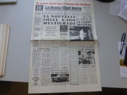 La Route Shell Berre N°50 Mai 1960, 404 Peugeot, Salon Auto Miniature, Etc  ; Ref 333 G 22 - Newspapers
