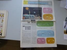 La Route Shell Berre N°46 Janv 1960, N° Spécial Voeux Illustrés, Service De Nuit, Etc  ; Ref 334 G 22 - Newspapers