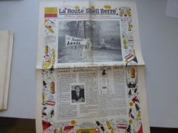La Route Shell Berre N°25 Janv 1958, N° Spécial Voeux Illustrés,  Etc  ; Ref 335 G 22 - Newspapers