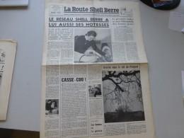 La Route Shell Berre N°14 Mars1957, Hôtesses Shell, Périgord, Premier Rallye,  Etc  ; Ref 338 G 22 - Journaux - Quotidiens