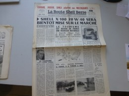 La Route Shell Berre N°5, Mai 1956, Championnats Fr Routiers, Ferrari, Jaguar, Simca,  Etc  ; Ref 340 G 22 - Journaux - Quotidiens