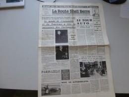 La Route Shell Berre N°32 Sept 1958, Tour Auto, Naissance Cartoguides, Trophée TERROT,  Etc  ; Ref 343 G 22 - Journaux - Quotidiens