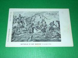 Cartolina Militaria - Battaglia Di S. Martino ( 24 Giugno 1859 ) - Militari