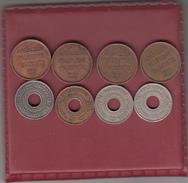 Palestine - Lot Of 8 Coins -1 Mil 5 Mils Years 1927- 1946 - Israel