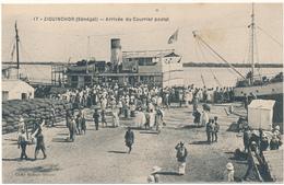 ZIGUINCHOR, Casamance - Arrivée Du Courrier Postal - Sénégal