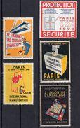 EMBALLAGE / MANUTENTION / SECURITE - Commemorative Labels