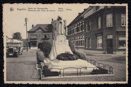 KAPELLEN / CAPPELLEN  - Beeld Der Gesneuvelden / Monument Des Héros De Guerre 1914 - 1918 ( Met Autobus) - - Kapellen