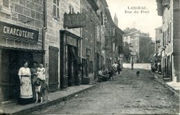 N°53900 -cpa Langeac -rue Du Pont- - Langeac