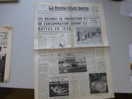 La Route Shell Berre N°4 Avril 1956, Dauphine Renault, Pompistes Distingués, Etc ; Ref 341 G 22 - Journaux - Quotidiens