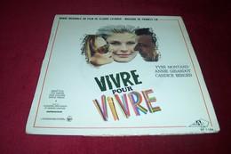 VIVRE POUR VIVRE BANDE ORIGINALE DU FILM DE CLAUDE LELOUCHE MUSIQUE FRANCIS LAI - Soundtracks, Film Music