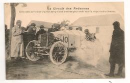 LE CIRCUIT DES ARDENNES  ROUGIER SUR VOITURE TURCAT MERY  / AUTOMOBILES CPA618 - Sport Automobile