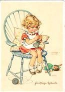 """Nette Motiv Ansichtskarte """"Kinder"""" Oder """"Mädchen"""" V. Stuttgart 1940 Mit MEF 513 Dt. Reich - Abbildungen"""