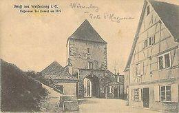 WISSEMBOURG  - WEIßENBURG I. E. - Hagenauer Tor - Unclassified