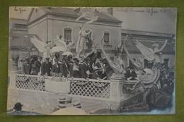Thouars - Cavalcade Du 22 Juin 1913 - Char De La Chorale, Superbe Carte-photo En Très Bel état - Thouars