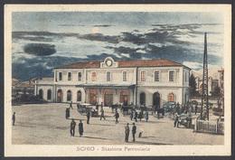 SCHIO - Stazione Ferroviaria - Formato Piccolo - Editore E.E.B.S. - Viaggiata 1925 - Italie