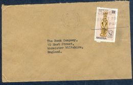 G136- Postal Used Cover. Posted From Nigeria To England. UK. Archaeology. - Nigeria (1961-...)