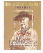 2002 Tuvalu Lord Baden Powell Souvenir Sheet MNH - Scoutisme