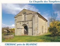 CRESSAC. - La Chapelle Des Templiers - France