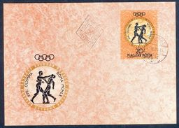 G160- M-Card Of Magyar Post. Hungary. Olympic Games. - Hungary