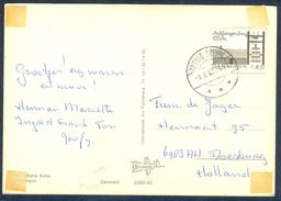 G164- Postal Used Post Card. Posted From Denmark To Holland. - Denmark