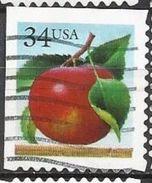 Stati Uniti Lotto N.467 Del 2001 Yvert N.3567c Usato Non Dent In Alto E A Sx - Etats-Unis