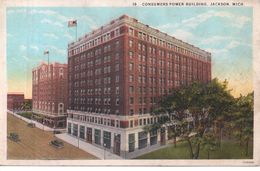 Jackson (Michigan ) - Consumers Power Building - Etats-Unis