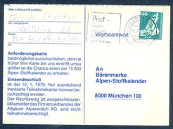 G169- Postal Used Post Card. Posted From Germany. Space. - Germany