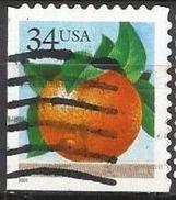 Stati Uniti Lotto N.478 Del 2001 Yvert N.3568a Usato Non Dentellato In Basso E A Sx - Etats-Unis