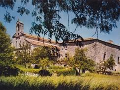 """RONSENAC. - L'Abbaye Et L'Eglise Abbatiale. Cachet De """"CHEZ LAURETTE"""" Au Verso - France"""