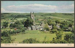Widecombe In The Moor, Devon, C.1960s - Jarrold RP Postcard - England