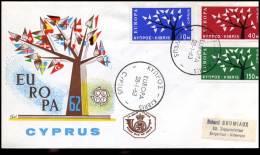 (E1416)  Grieks Cyprus  - FDC - Europa CEPT 1963 - Europa-CEPT
