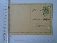 D151195 Ceskoslovensko - JASINA-KOSICE   1937 Postal Stationery - Briefe U. Dokumente