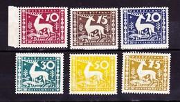 Württemberg 1920. Dienstmarken, Hirsch - Wuerttemberg